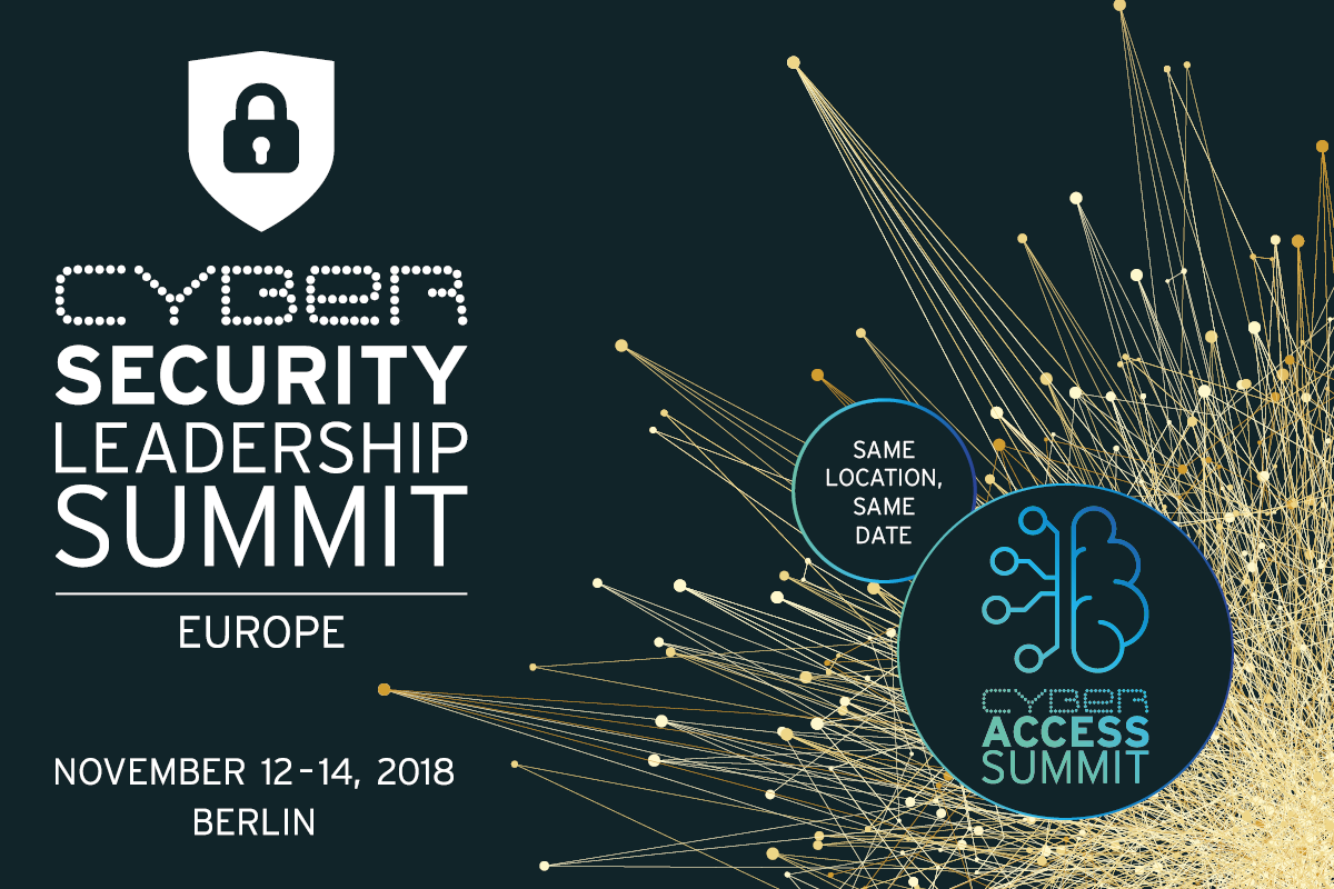 Cybersecurity Leadership Summit 2018 Europe