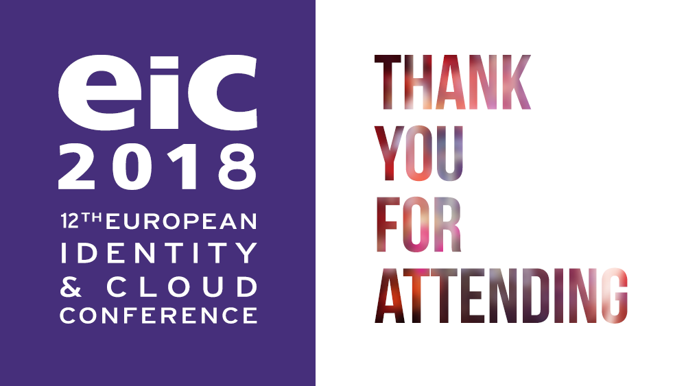 Thank you for attending EIC 2018, thank you for contributing!