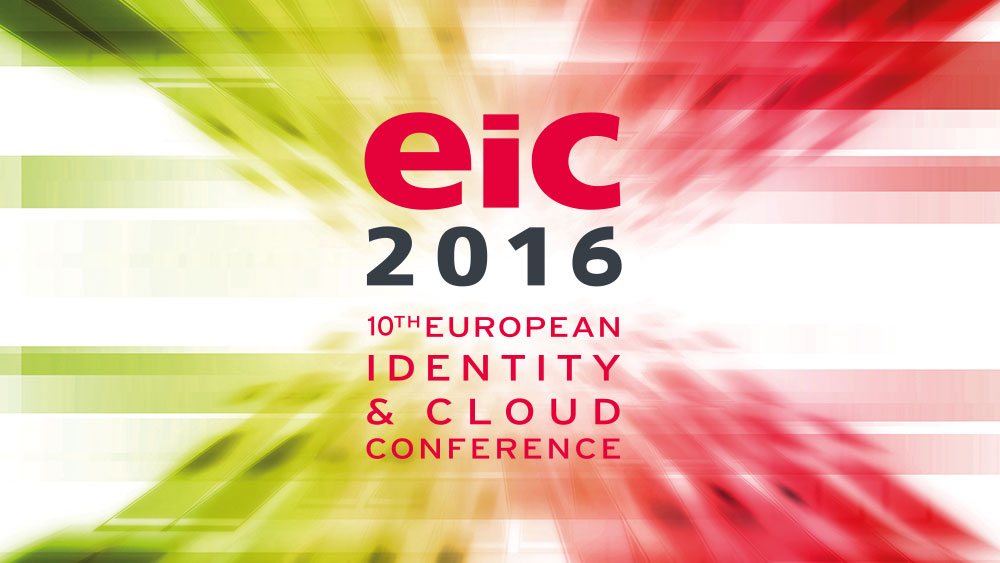 EIC 2016 Webinar about Customer-Centric Identity Management