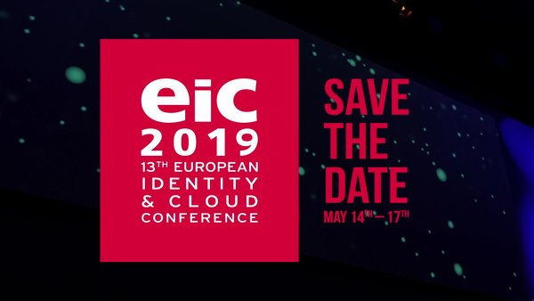 Welcome to the European Identity & Cloud Conference 2019