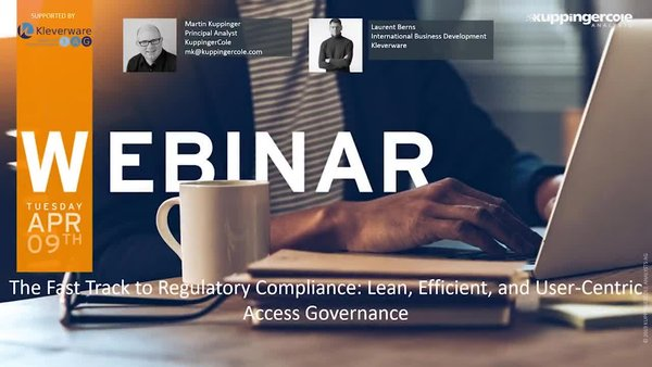 The Fast Track to Regulatory Compliance: Lean, Efficient, and User-Centric Access Governance