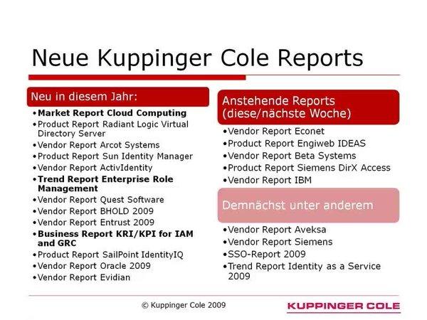 News Archive - KuppingerCole